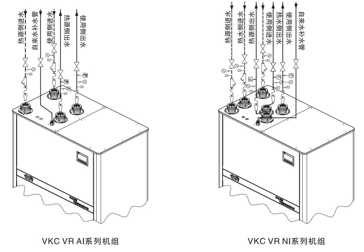 vkc地源热泵机组接线图