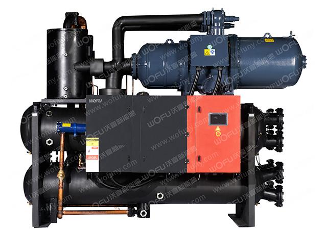 GSM 降膜式/满液式螺杆水地源热泵机组